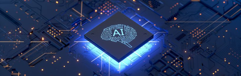 AI in supply chain - computer chip